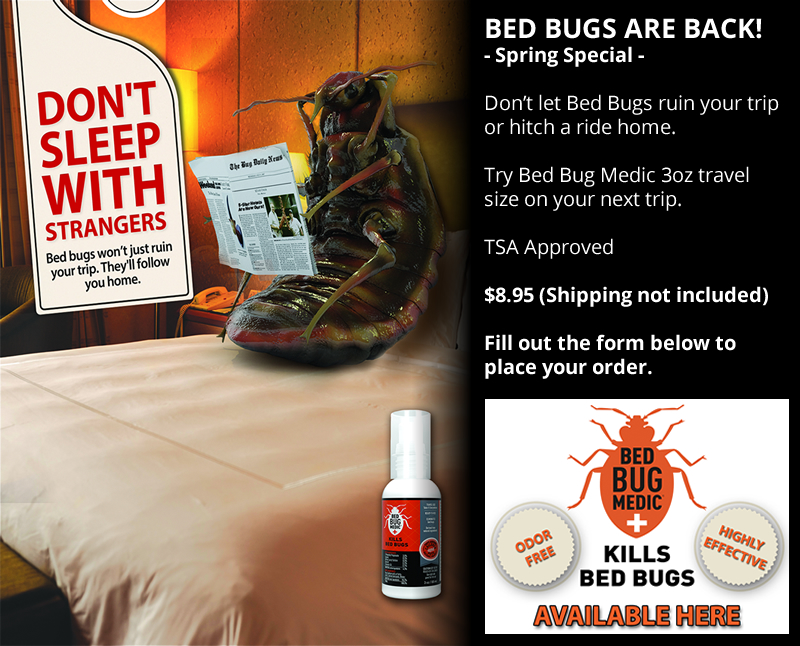 Bed Bug Medic Ad